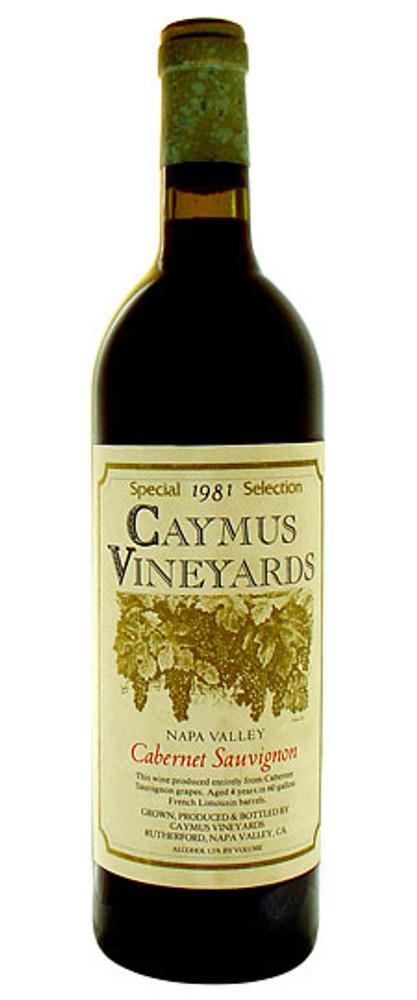 Caymus Cabernet Sauvignon Special Selection 1981 750ml
