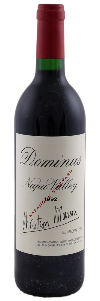 Dominus Estate Napa Valley 1992 750ml