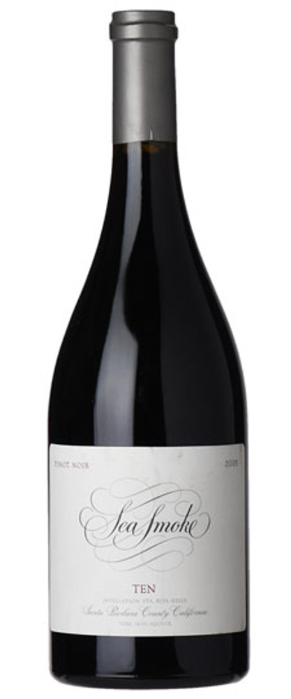 Sea Smoke Ten Pinot Noir Sta. Rita Hills 2005 750ml
