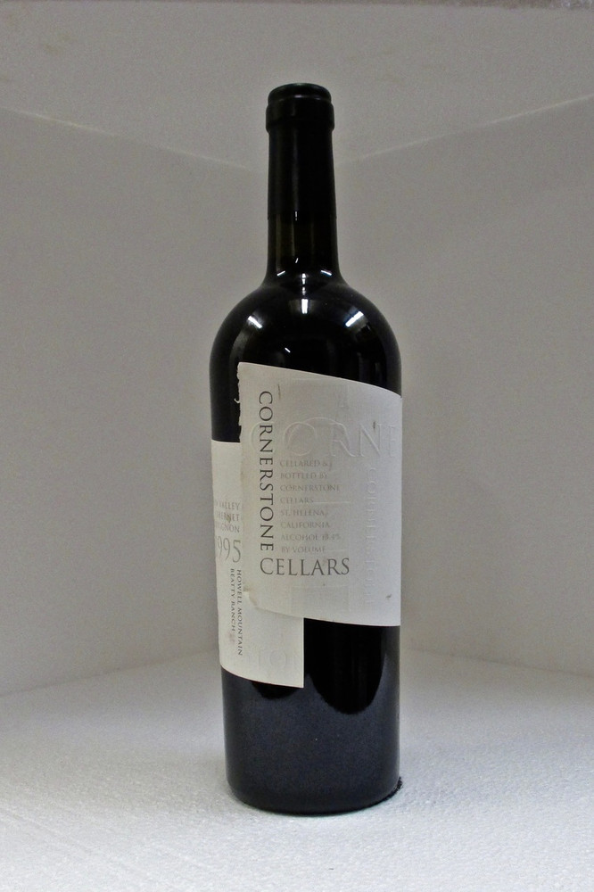Cornerstone Cellars Cabernet Sauvignon Napa Valley 1995 750ml