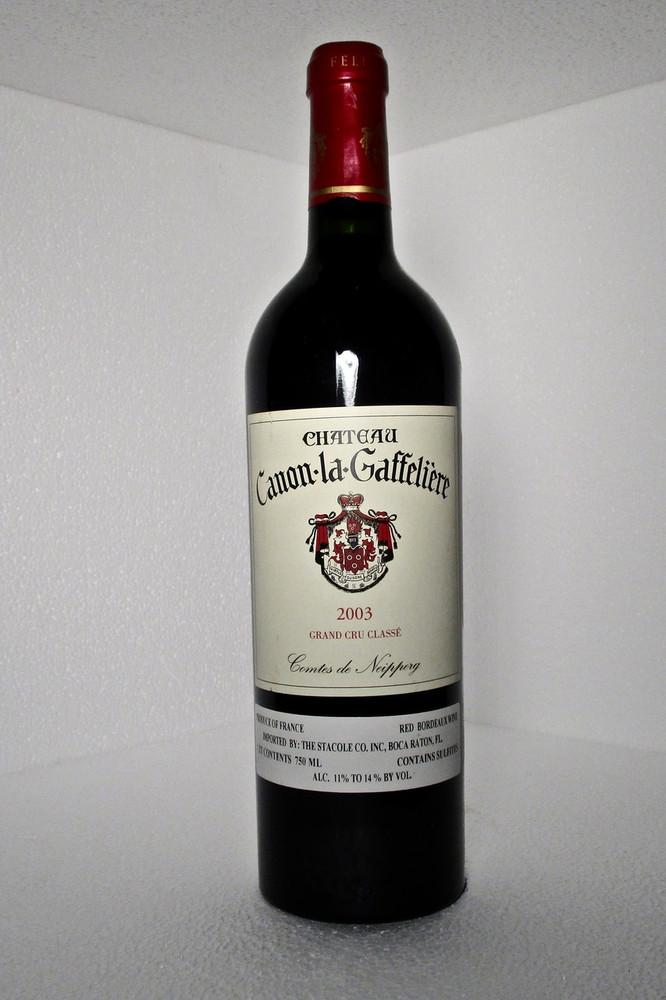 Canon La Gaffeliere 2003 750ml