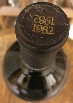 Opus One Napa Valley 1982 750ml (Soiled Label)