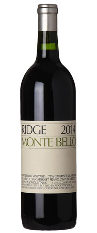 Ridge Monte Bello 2014 750ml