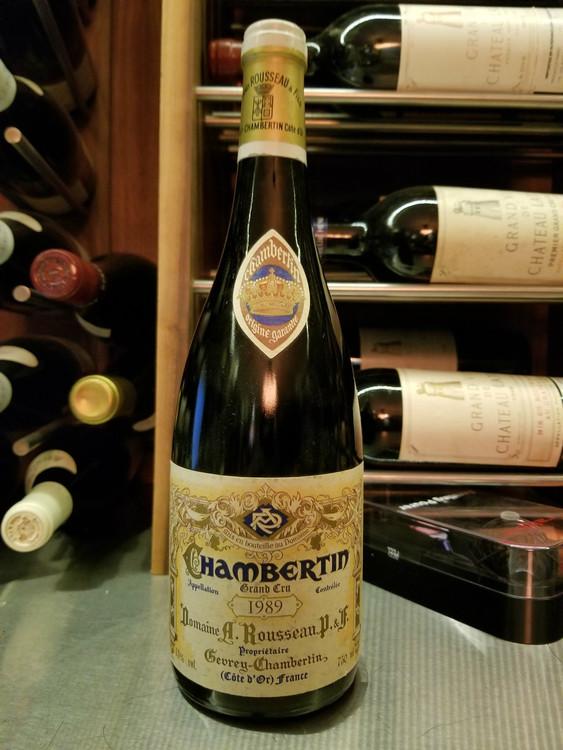 Domaine Armand Rousseau Chambertin Grand Cru 1989 750ml