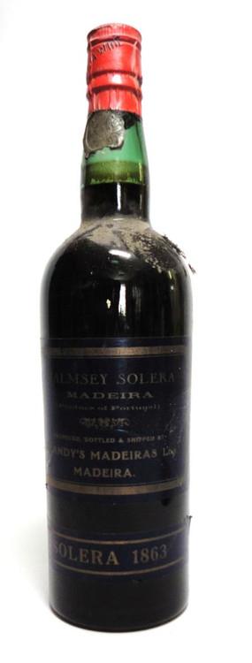Blandy's Malmsey Madeira Solera 1863 700ml