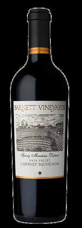 Barnett Vineyards Cabernet Sauvignon Spring Mountain District 2001 750ml