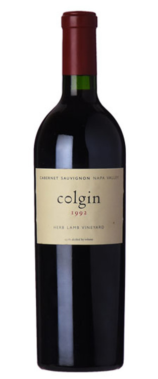 Colgin Cabernet Sauvignon Herb Lamb Vineyard 1992 750ml