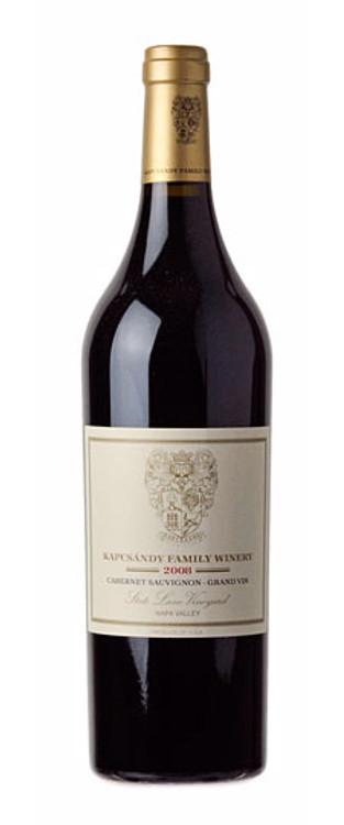 Kapcsandy Grand Vin Cabernet Sauvignon State Lane Vineyard 2008 750ml