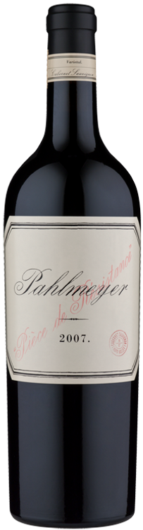 Pahlmeyer Piece de Resistance Cabernet Sauvignon Napa Valley 2007 750ml