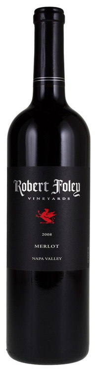 Robert Foley Merlot Napa Valley 2008 750ml
