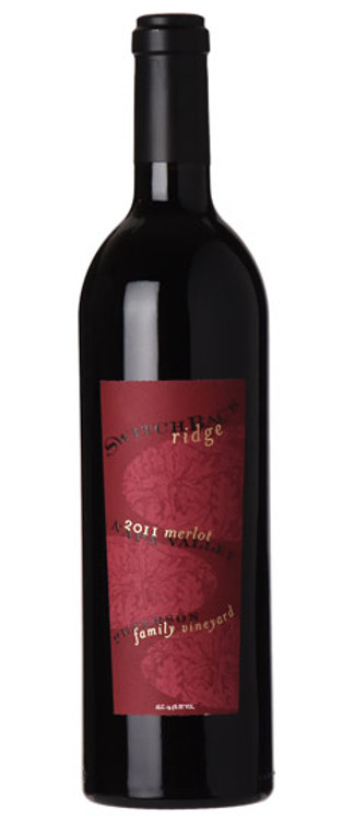 Switchback Ridge Merlot Petersen Family Vineyard 2008 750ml