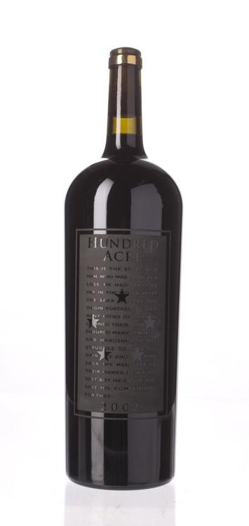 Hundred Acre Cabernet Sauvignon Kayli Morgan Vineyard 2002 1500ml
