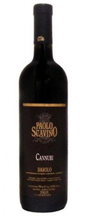 Paolo Scavino Barolo Cannubi 1999 750ml