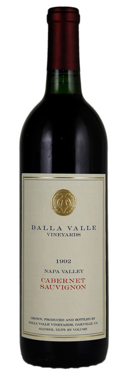 Dalla Valle Cabernet Sauvignon Napa Valley 1992 750ml