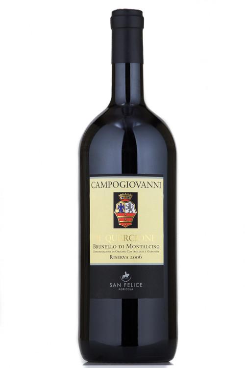 San Felice Brunello di Montalcino Campogiovanni Riserva Il Quercione 2006 1500ml