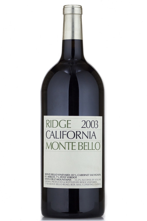 Ridge Monte Bello 2003 3000ml