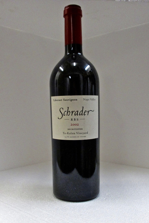 Schrader RBS Beckstoffer To Kalon Vineyard 2002 750ml