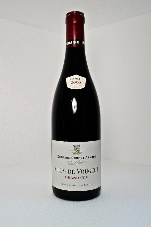 Domaine Robert Arnoux Clos Vougeot Grand Cru 2000 750ml