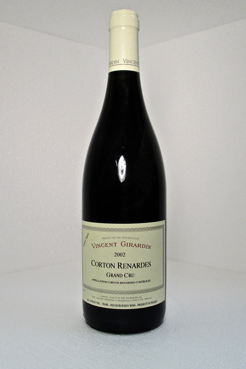 Domaine Vincent Girardin Corton Renardes Grand Cru 2002 750ml