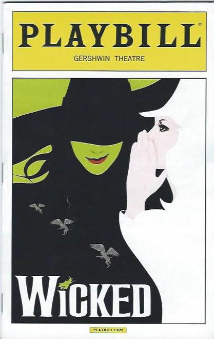 WickedPBocttcoverjpgc - Playbill program