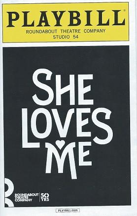 Shelovesmemarcoverjpgc - Playbill program