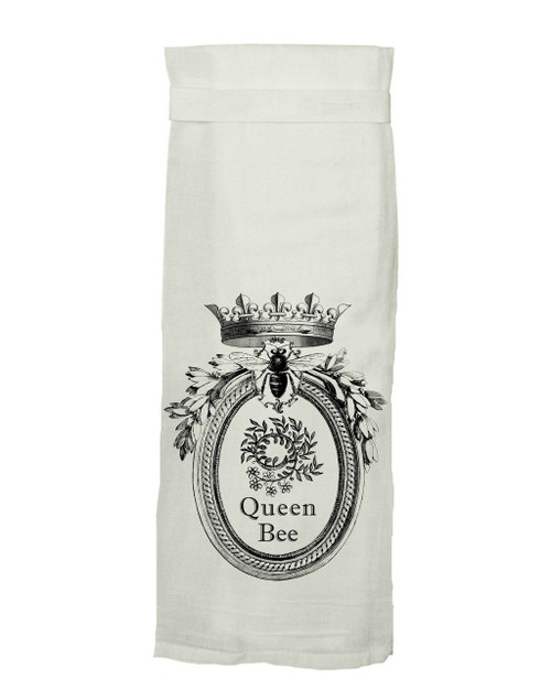 Twisted Wares Queen Bee Hang Tight Towel