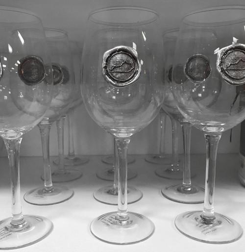 Southern Jubilee Stemmed KY Wine Glass