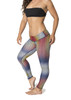 Colorado Tuya Leggings - Grey/Red/Yellow