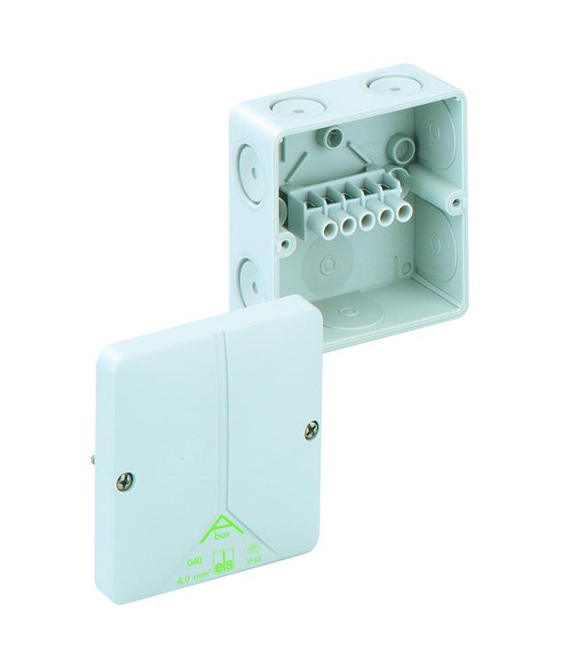 SPELSBERG Abox 040 Junction Box with 5 x 4mm² Terminals