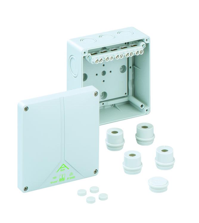 Spelsberg Abox 100 Junction Box with 5 x 10mm² Terminals
