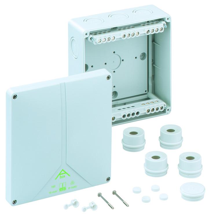 Spelsberg Abox 160 Junction Box with 5 x 16mm² Terminals
