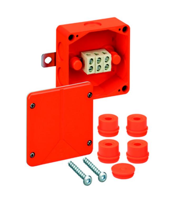 Spelsberg WKE 2 Fire Rated Junction Box c/w 3 x 10mm² Terminals