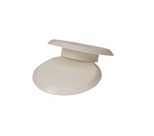 "1.90"" White Finishing Cap for Anchor (6"" O.D.) - Anchor 10"