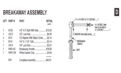 Slam - Breakaway Assembly - BR1