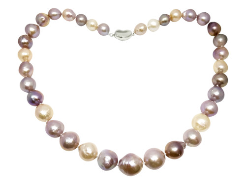 Multicolour Baroque Pearl Necklace Regular