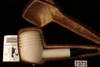 WGM Meerschaum Pipe -  Poker the Sitter in a fitted CASE 7373