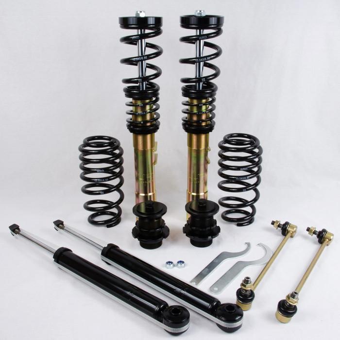 WRD Advantage Street Coilovers MK5/6 GTI, GOLF, JETTA, Gold Zinc