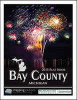 Bay County Michigan 2015 Plat Book