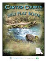 Carter County Missouri 2013 Plat Book