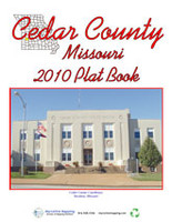 Cedar County Missouri 2010 Plat Book