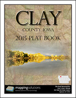 Clay County Iowa 2015 Plat Book
