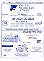 Craig County Oklahoma 2001 Plat Book
