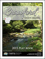 Crawford County Arkansas 2015 Plat Book