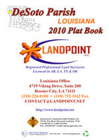 Desoto Parish Louisiana 2010 Plat Book