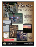 Harrison County Ohio 2014 Plat Book
