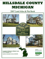 Hillsdale County Michigan 2007 Plat Book
