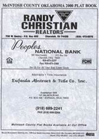 Mcintosh County Oklahoma 2000 Plat Book