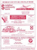 Murray County Oklahoma 1998 Plat Book