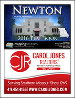 Newton County Missouri 2016 Plat Book