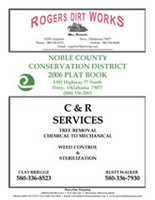 Noble County Oklahoma 2006 Plat Book